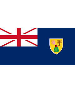 Fahne: Turks- und Caicosinseln