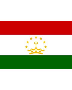 Fahne: Tadschikistan