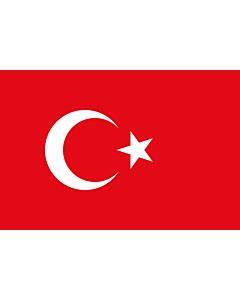 Fahne: Türkei