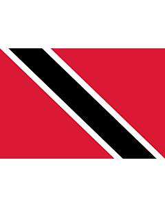 Fahne: Trinidad und Tobago