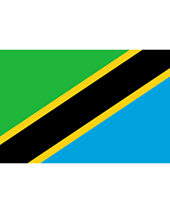 Fahne: Tansania, Vereinigte Republik