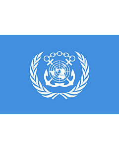 Fahne: International Maritime Organization