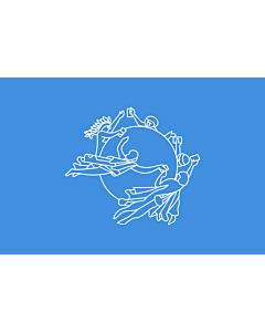 Fahne: Weltpostverein