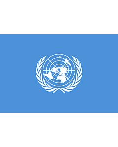 Fahne: Vereinten Nationen, UN, UNO