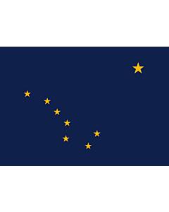 Fahne: Alaska