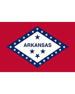 Fahne: Arkansas