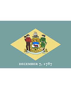 Fahne: Delaware