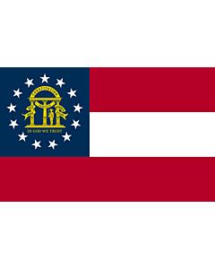 Fahne: Georgia