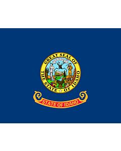 Fahne: Idaho