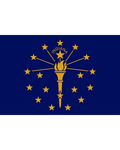Fahne: Indiana