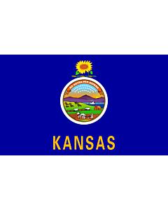 Fahne: Kansas