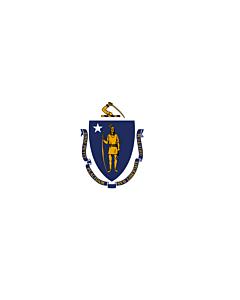 Fahne: Massachusetts