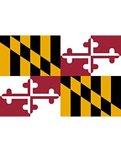 Fahne: Maryland