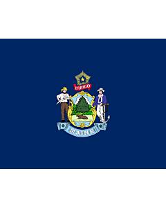 Fahne: Maine