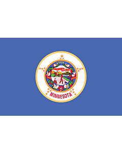 Fahne: Minnesota