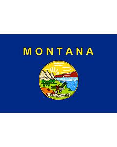 Fahne: Montana