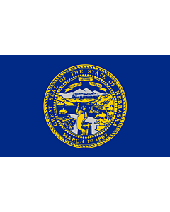 Fahne: Nebraska