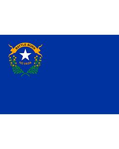 Fahne: Nevada