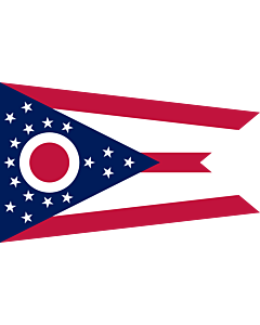 Fahne: Ohio