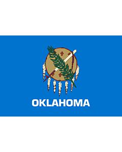 Fahne: Oklahoma