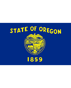 Fahne: Oregon