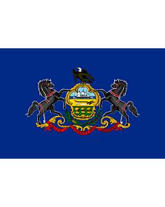 Fahne: Pennsylvania