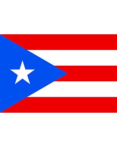 Fahne: Freistaat Puerto Rico