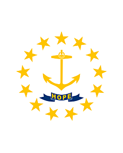 Fahne: Rhode Island