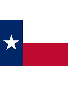 Fahne: Texas