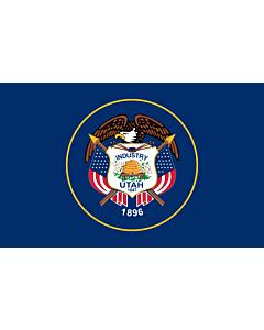 Fahne: Utah