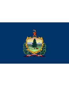 Fahne: Vermont