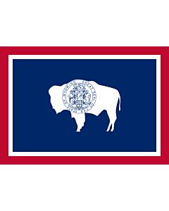 Fahne: Wyoming