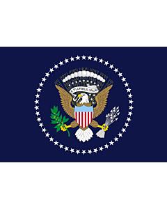 Fahne: Präsident der Vereinigten Staaten