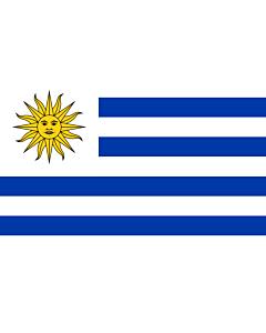 Fahne: Uruguay