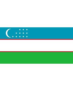 Fahne: Usbekistan