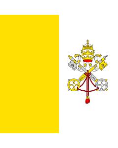 Fahne: Vatikanstadt