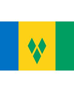 Fahne: St. Vincent und die Grenadinen