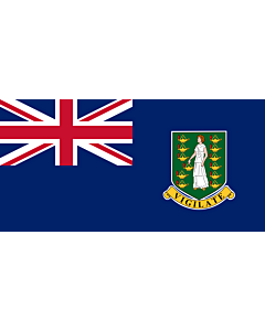 Fahne: Britische Jungferninseln