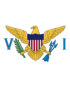 Fahne: Amerikanische Jungferninseln