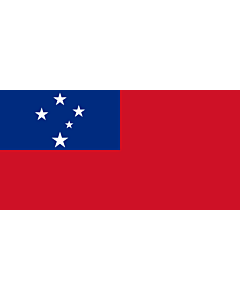 Fahne: Samoa