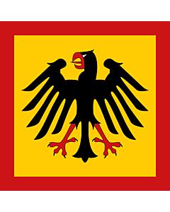 Fahne: Bundespräsidenten der Bundesrepublik Deutschland