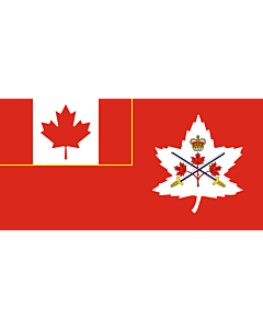 Fahne: Canadian Army | Canadian Army, adopted in 14 July 2016