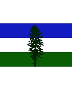 Fahne: Cascadia | Cascadia, based on en Image Cascadian flag