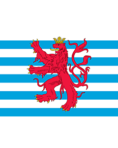 Fahne: Civil Ensign of Luxembourg