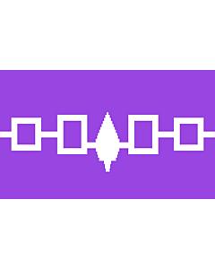 Fahne: Iroquois