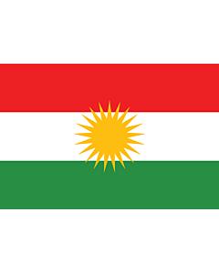 Fahne: Kurdistan