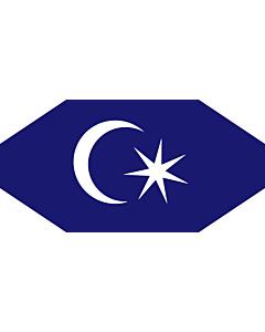 Fahne: Permaisuri Johor | Standard of the Permaisuri of Johor, Malaysia