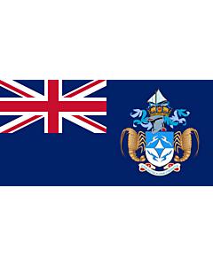 Fahne: Tristan da Cunha