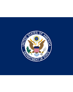Fahne: United States Department of State