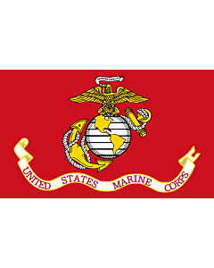 Fahne: United States Marine Corps | Image taken from